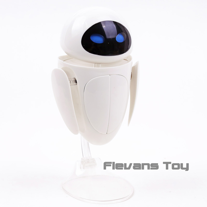 Image 4 - WALL E Transforming EVE 6 Eye Expressions PVC Action Figure Collectible Model Toy Christmas Birthday GiftAction & Toy Figures   -