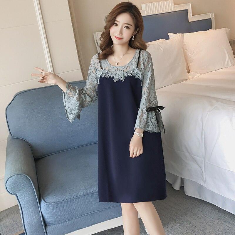 17993a66b10 BAHEMAMI maternity dress 2018 fashion embroidery pregnant women dress summer  new loose pregnant women dress