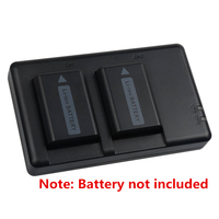 NP FW50 NPFW50 lithium batteries pack charger/Two seat NP FW50 Digital Camera Charger FW50 For SONY a7 a7R a7S a3000 A6300 A6500