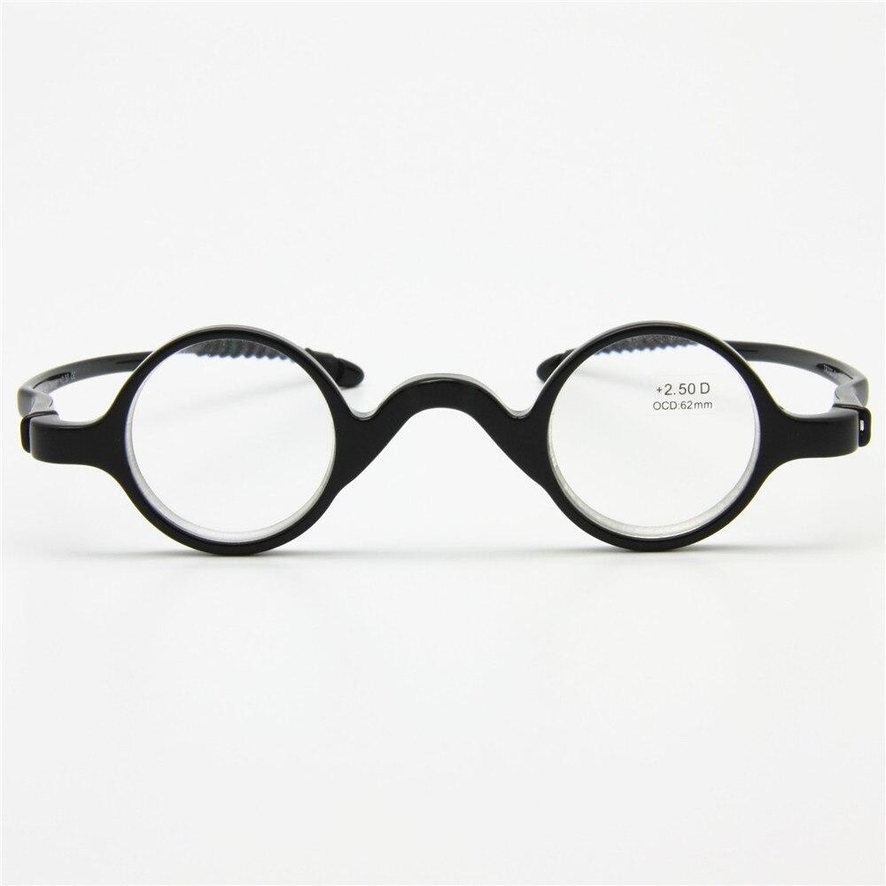 Clássico Retro Rodada Quadro Óculos de Leitura, flexível Leitor de Bolso,  nerd Óculos de Presbiopia, + 1.0 a + 3.5 vem com estojo ec49e0edf3
