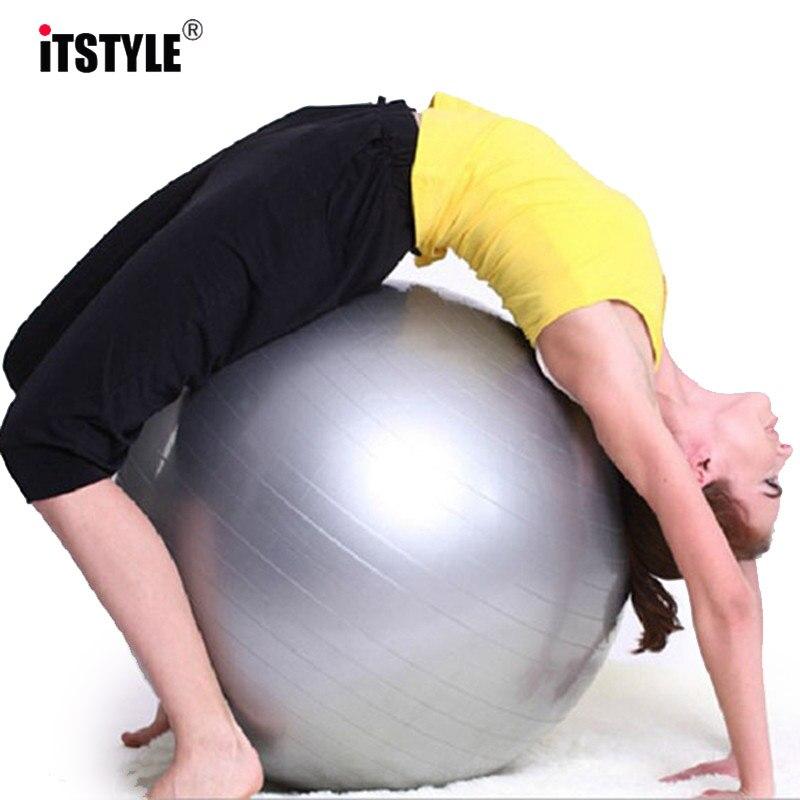 ITSTYLE deportes Yoga bolas Bola Pilates gimnasio equilibrio Fitball  ejercicio Pilates entrenamiento Bola de masaje 45 cm 55 cm 65 cm 75 cm en  Pelotas de ... 63d6bf433dac