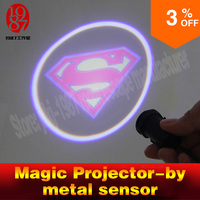 Game Props For Escape Room Magic Projector Prop Metallic Object Close To Sensor To Turn On