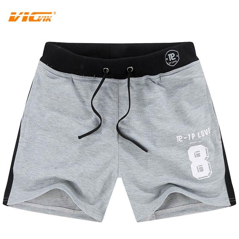 VICVIK Brand Soft Shorts Mens Summer 50%cotton Knitting Mens ...