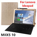 Case For Lenovo Ideapad Miix 510 Protective Smart cover Leather Tablet For MIIX 5 12.2 inch PU Protector MIIX510 Sleeve Covers