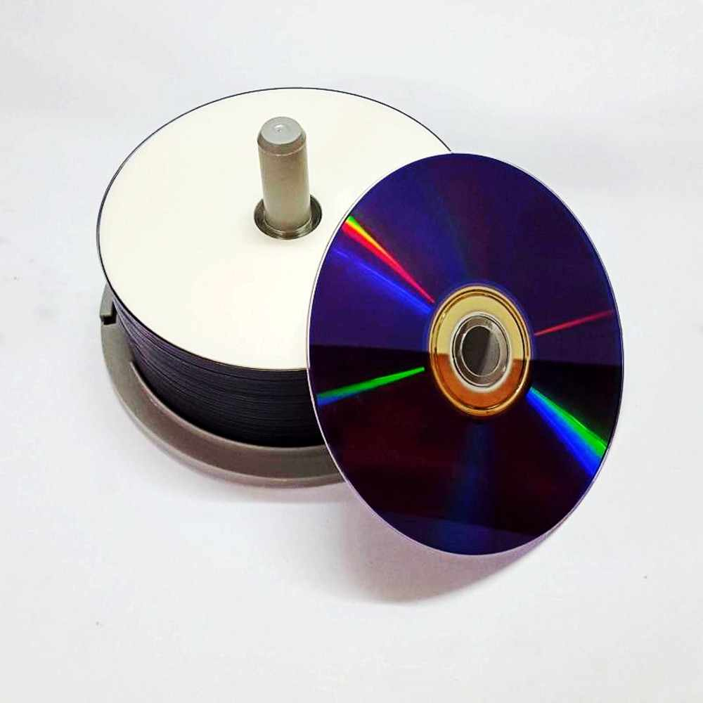 photo relating to Inkjet Printable Dvd called No cost transport 25 Components White Inkjet Printable 8X DVD+R DL Double Layer Recordable Disc Media 8.5GB DVD disc