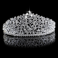 2016 New Hair Jewelry Women Crystal Tiaras Crowns For Wedding Hair Accessories Marriage Festival Gifts Wedding