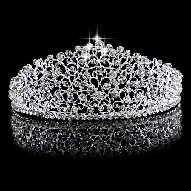 Sparkling Silver Tiara
