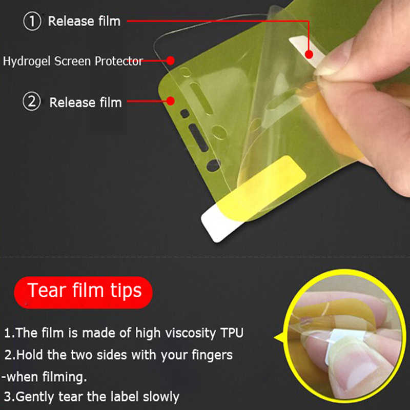 3D Screen Protector For Redmi Note 7 6 5 Pro Full Cover Soft Hydrogel Film For Xiaomi 9 8 Lite Mix 3 Max 3 Note 3 PocoPhone F1