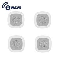 HAOZEE Heiman Sensor de temperatura y humedad z wave, Smart Home, versión UE, 868,42 mhz, detector inteligente de ondas Z, 4 unids/lote