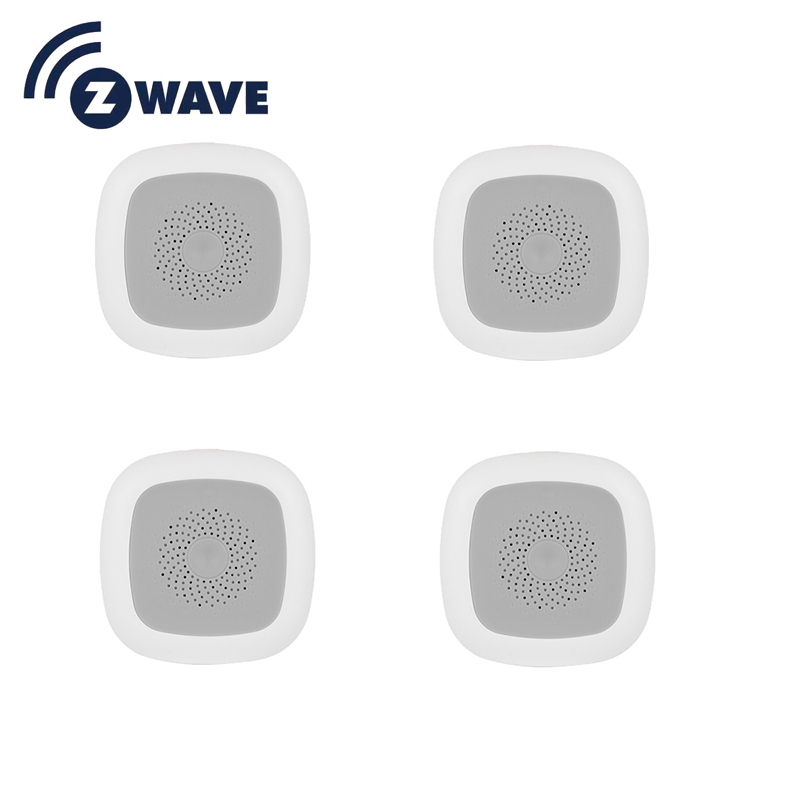 HAOZEE Heiman Z-wave Temperature & Humidity Sensor Smart Home EU Version 868.42mhz Z Wave Smart Detector 4pcs/lot