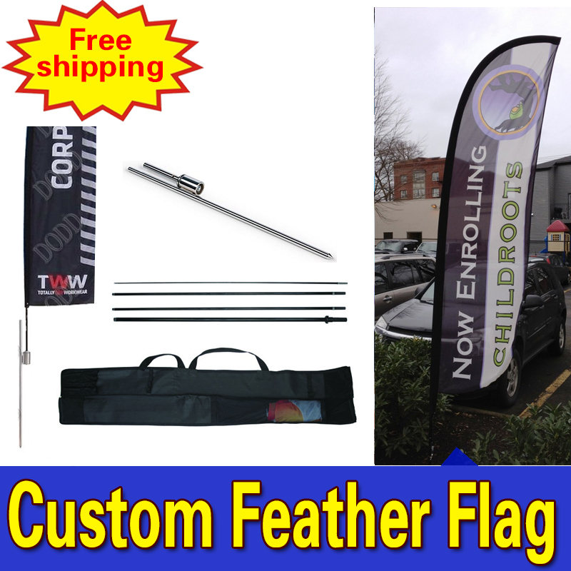 85cm * 500cmFREE SHIPPING Reklāmas spalvu karogi ar vienpusēju - Mājas dekors