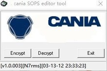 Arquivo SOPS Encryotor Decryptor Editor para Scania VCI 3 VCI3 SDP3 Diagnosticar Programação