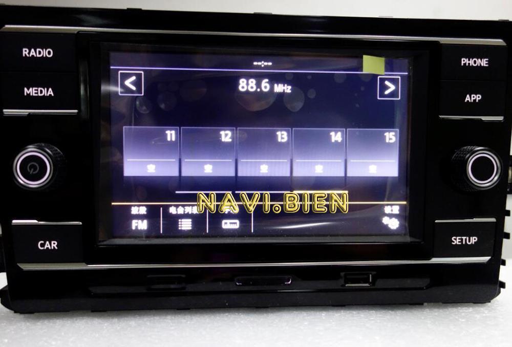 Poste gratuite tout neuf 5TD035280 5TD035280D 5TD035280B 5TD035280C pour VW Golf 7 Sportsvan Touran MQB Carplay 6.5