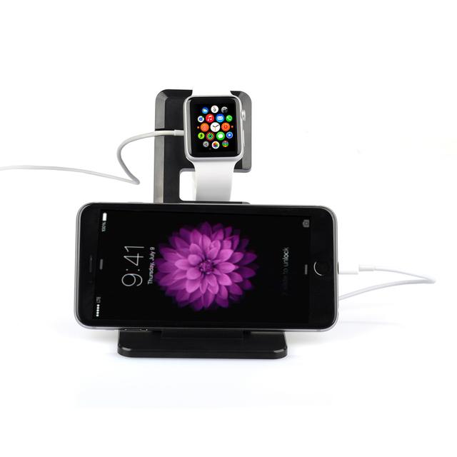 Estación de carga para apple watch 38 42mm soporte de carga del teléfono celular sostenedor del soporte para iphone 6 6 s 7 plus ipad mini air 2 Pro