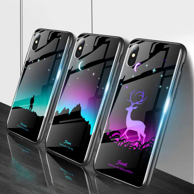 Luminous Phone Case For huawei honor 8x cases Night