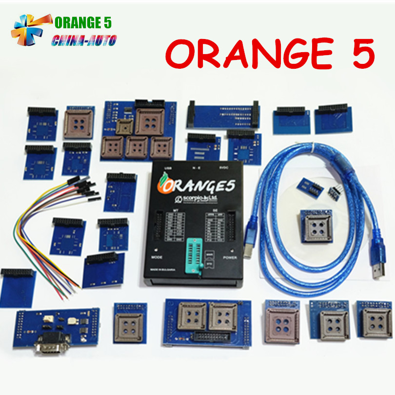 OEM Orange5 Professional Programming Device With Full Packet Hardware + Enhanced Function Software orange 5