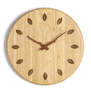 Mechanism Oclock Wooden Large 3d Modern Wall Watch Quartz Wood Silent Living Room Luxury Gear Diy Home Vintage Wall Clock LKP408