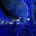 EE.UU. Plug 10 M Lámparas LED de Cuerda Luz de Navidad para la Navidad de La Boda Home Garden Decoration 100 Al Aire Libre de Iluminación Del Partido suministros
