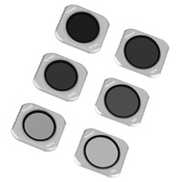 Neewer 6 Pieces Lens Filter Kit for DJI Mavic 2 Pro,Includes Multi coated ND4 ND8 ND16 ND4/PL ND8/PL ND16/PL Filters with Carry