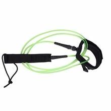 6 футов, 5,5 мм, поводок для серфинга, анти-потеря, ТПУ, двойные Вертлюги, прямая безопасная веревка, для водных видов спорта, для серфинга, поводок с застежкой-липучкой