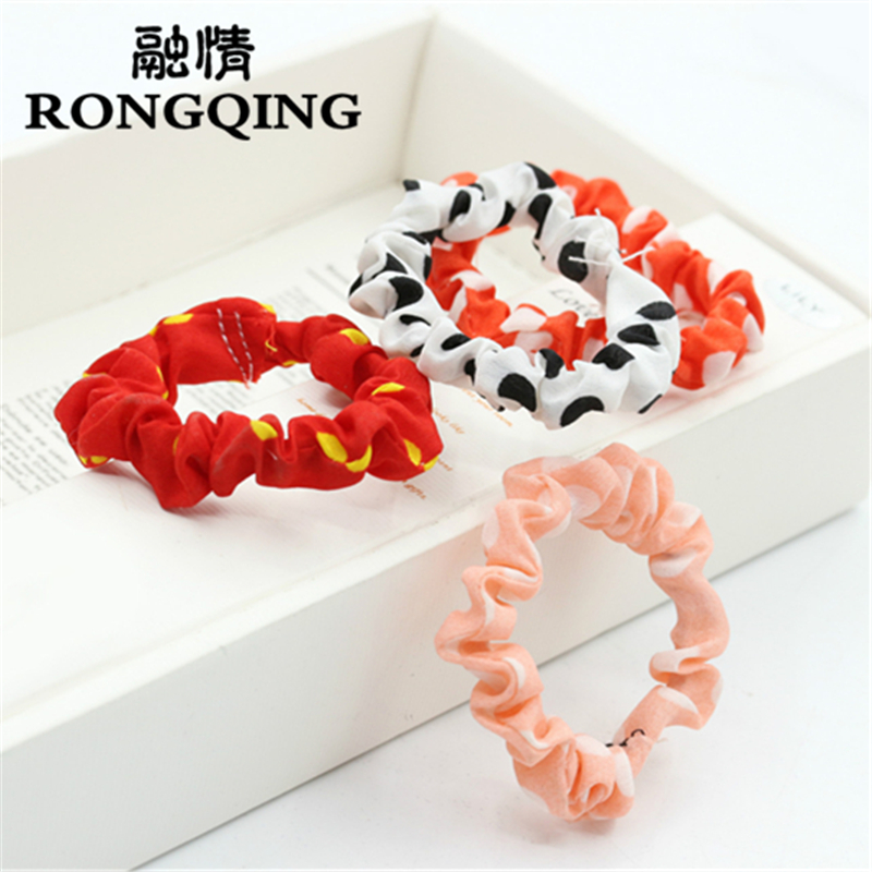 RONGQING 100pcs/lot Colour random delivery Mixed wholesale Flowers Hair jewelry for women