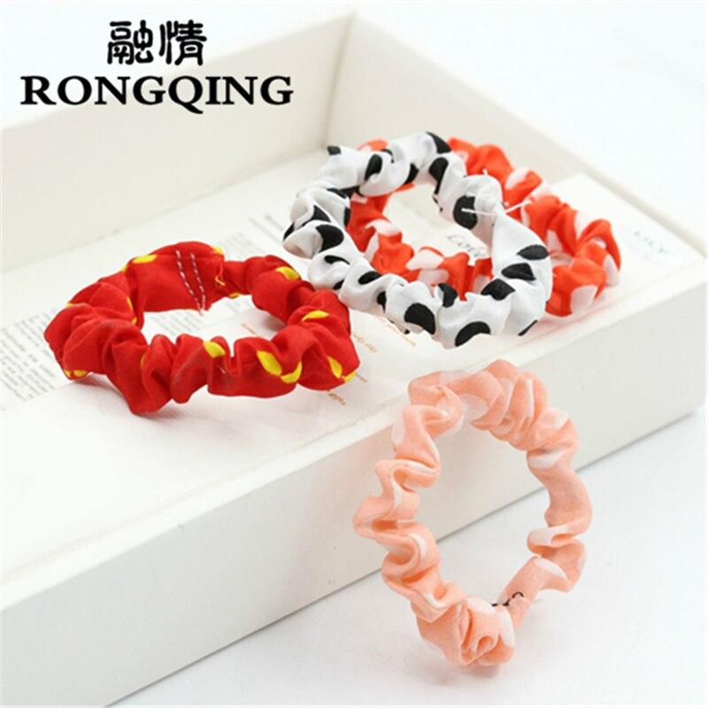 Rongqing 100 шт./лот Цвет случайная смешанная оптовая цветы, украшения для волос для жен ...