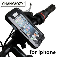 Waterproof motorcycle mobile phone holder for iPhoneX 8 7 6s PLUS XS XR MAX bicycle gps Holder Armor bag Phone Moto