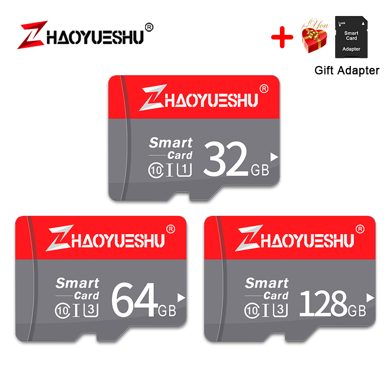 Class 10 Micro Sd Card High Speed Memory Card 128GB 64GB 32GB USB Mini Flash Disk Stick Drive For Driving Recorder Free Shipping(China)