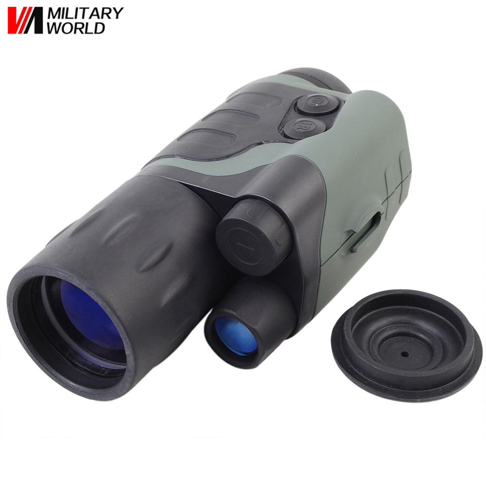 Protable Optical Night Vision Goggles/Hunting Equipment Night Vision Scope Infrared Night Vision Monocular Scope for 200Meter wg650 night vision monocular night hunting scope sight riflescope night vision binoculars optical night sight free ship