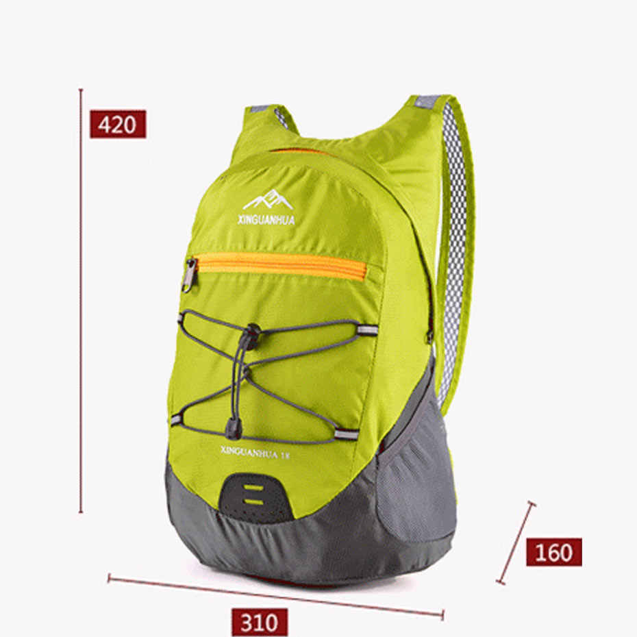 ... High Quality Durable Waterproof Folding Packable Lightweight Outdoor  Travel Hiking Backpack Daypack Portable Comfortable 190c84c1aa632