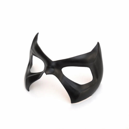 Nightwing Robin Black Leather Mask Young Justice Dick Grayson Jason Todd Cosplay