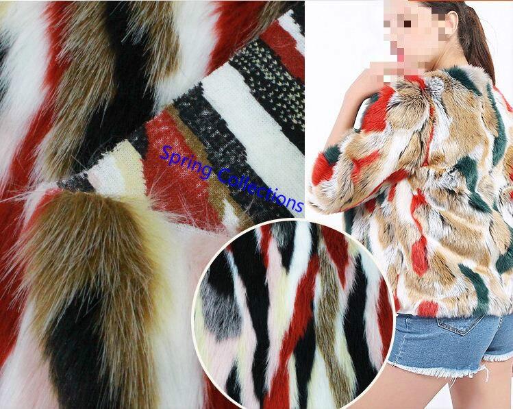 Entertainment Memorabilia Reliable Faux Fur Jacquard Plush Pheasant Cloth Fabric Home Textile Pillow Fabric For Fast Shipping