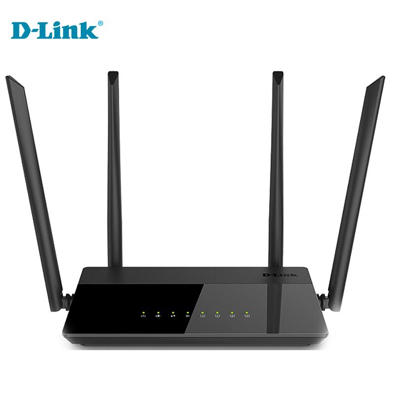 Prix pour Pas cher Rabais D-Lien 5g modem Fiber À Domicile WiFi routeur 1200Mbs Anglais Russe Firmware 2.4G/5 Ghz Gigabit Routeur Sans Fil Intelligent
