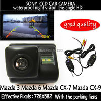 Wireless 2 4HG SONY CCD HD Car Rear View Reverse Backup Color Camera Sensors Night Vision