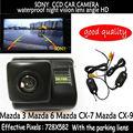 Wifi камера 2.4HG SONY пзс-hd вид сзади автомобиля обратный цветная камера ночного видения для Mazda 3 Mazda 6 Mazda CX-7 Mazda CX-9