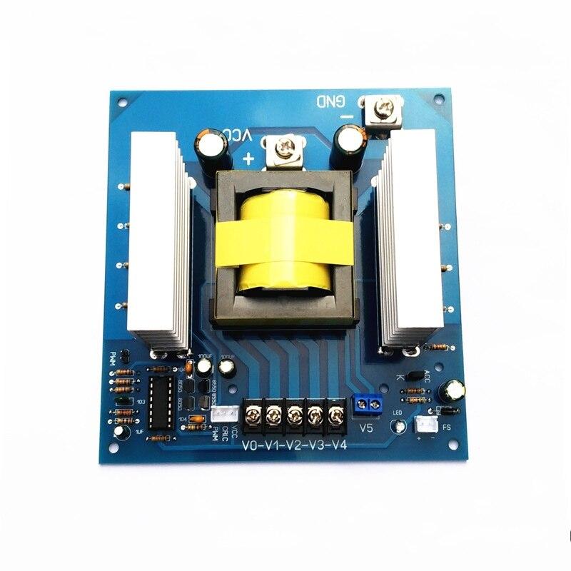 1000w DC 12V 24v to AC 110v 220v 380v high frequency Power Inverter Board Car Converter
