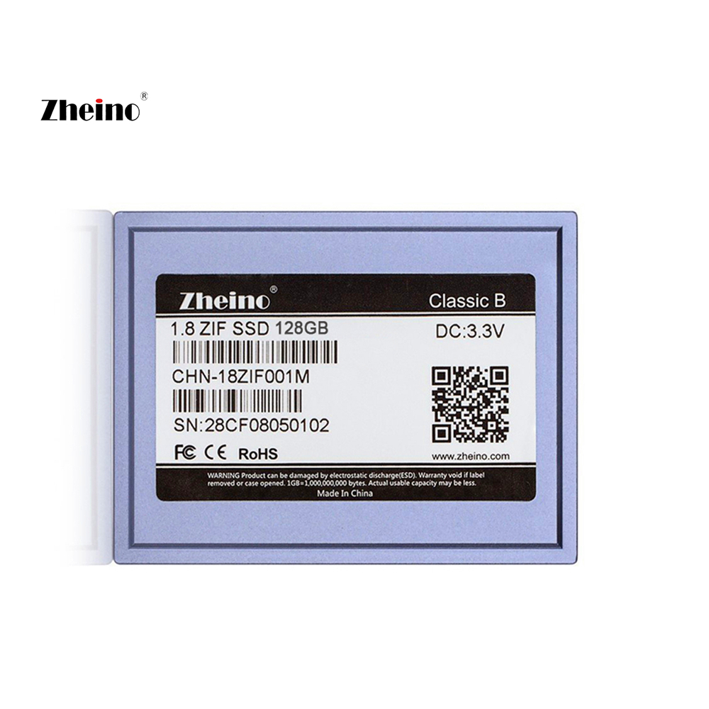 Zheino 1.8 Inch ZIF CE 128GB SSD 2D MLC For PC MacBook Air 1st A1237 Dell D420 D430 HP Mini 1000 2710P Toshiba 2410 HP Server