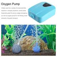 Solar Powered DC Charging Oxygenator Fishing Air Pump Water Oxygen Pump Pond Aerator With 1 Air