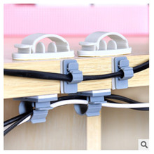 10pcs Cable Winder Earphone Cable Organizer Wire Storage Charger Cable Holder Clips for MP3 MP4 Mouse