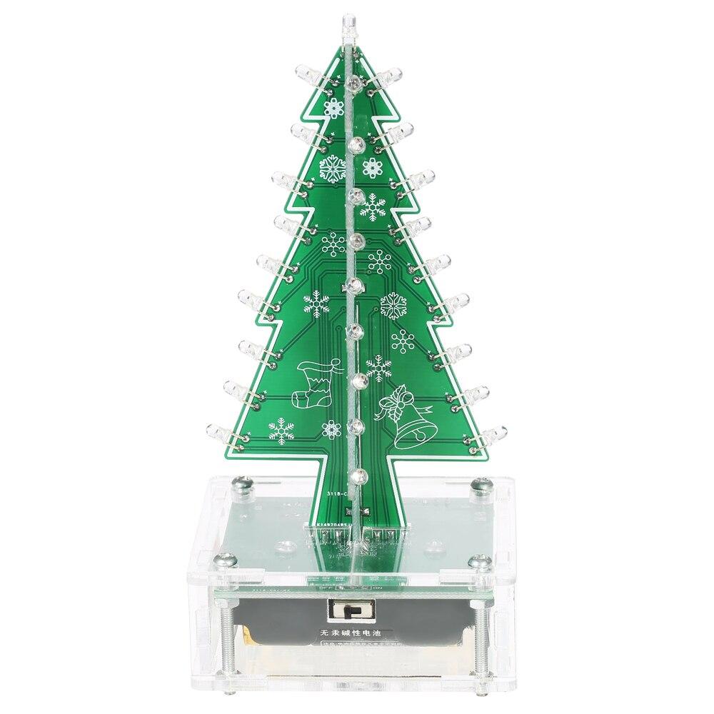 DIY Christmas Tree kit Colorful Easy Making LED Light Acrylic ...