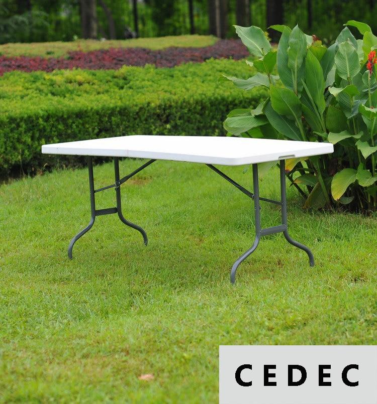 Multi-Purpose Center Folding outdoor Table, 6-Feet Long 180*76*74Cm