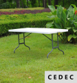 Multi-Purpose Center Folding outdoor Table, 6-Feet Long 180*76*74Cm