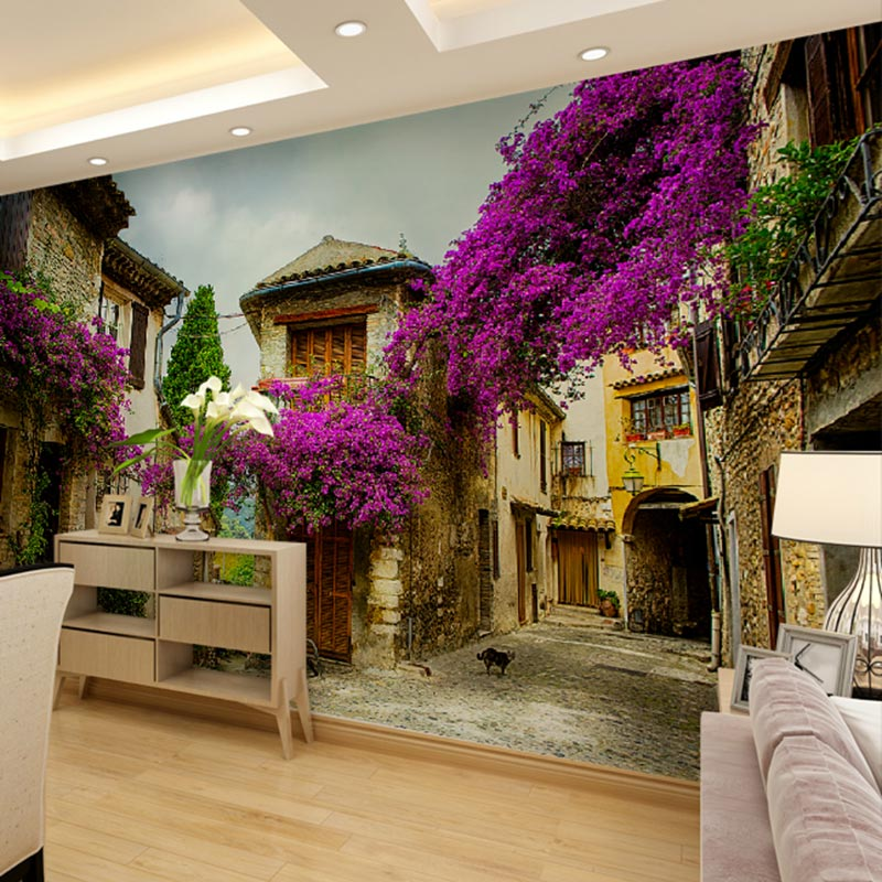 Buy custom home decor wall murals papel for Wallpaper decor for sale