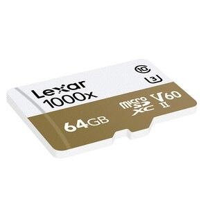 Image 4 - レキサー tarjeta micro sd カード 64 ギガバイト sdxc 150 メガバイト/秒メモリカード U3 クラス 10 車 TF フラッシュアラカルト SD カードリーダー移動プロスポーツカメラ