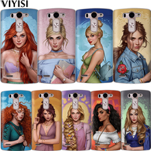 Fashion Princess Snow White Cinderella Aurora Coque Case For LG G6 Q6 Q7 Q8 G7 XPower 2 V30 K7 K8 K10 2017 2018 XScreen Etui