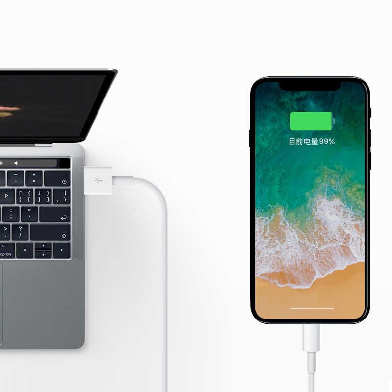 كابل يو اس بي ل البرق شاحن آيفون كابل كابل شحن USB ل أبل فون X XS ماكس XR 7 8 6 6S شاحن الحبل كابل بيانات
