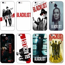 The Blacklist Silicone TPU Soft phone case For Apple iPhone 4 4s 5 5s 5c SE 6 6s plus 7 7plus 8 8plus X(China)