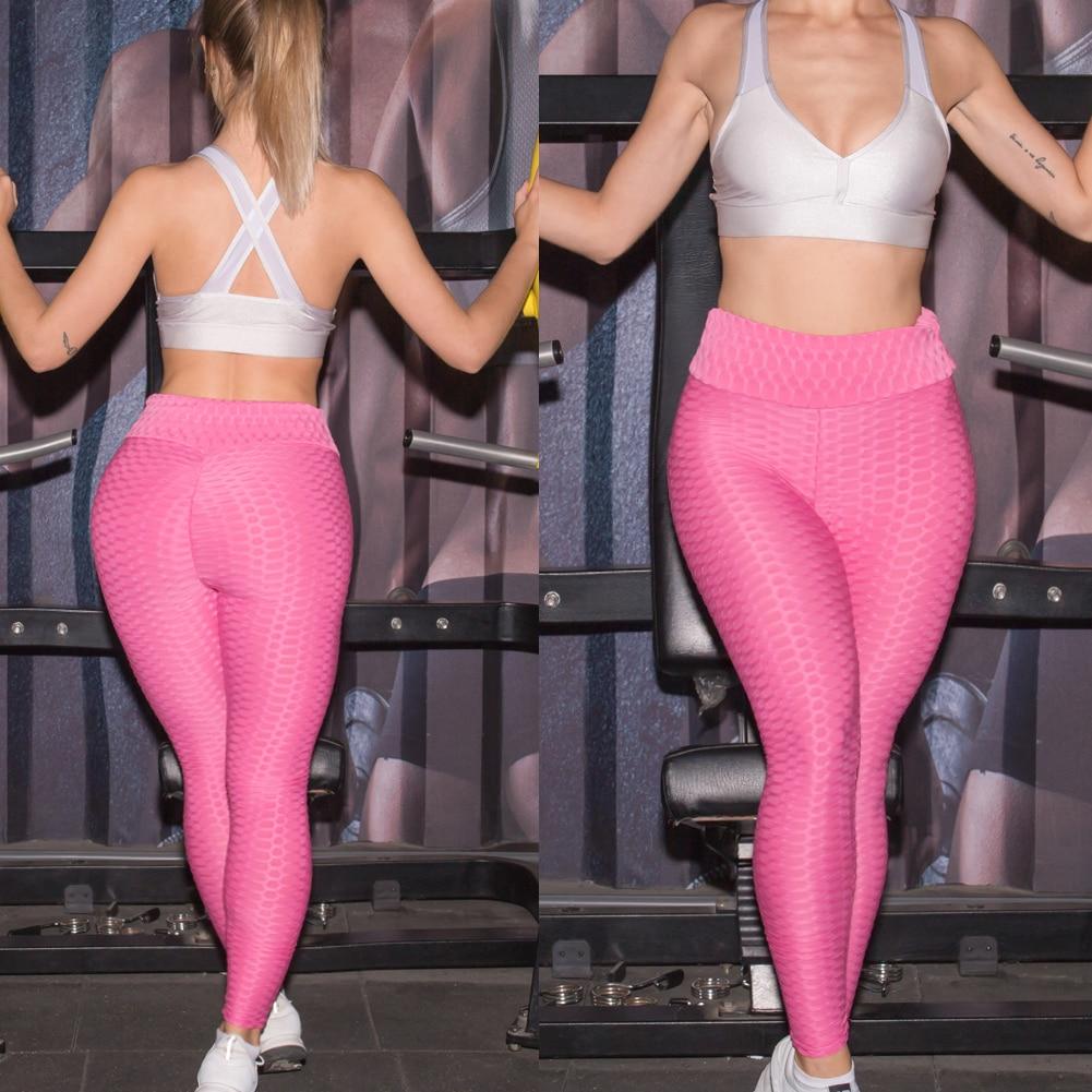 Women Anti-Cellulite Compression Leggings Slim Fit Butt Lift Elastic Pants QL Sale strength training