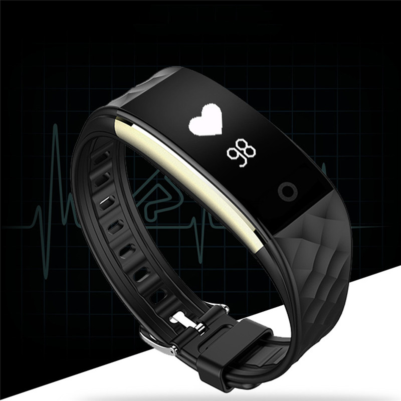 Cool Fashion Men Women Smart Bracelet Fitness Monitor Message Reminder Touch Screen Bluetooth Sport Style Luxury Watches Gift