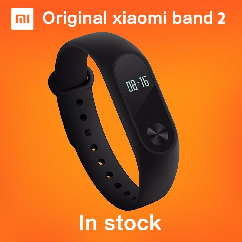 Original xiaomi mi band 2 Smart Armband Armband Tracker Fitness Mi band OLED Touchpad Schlaf Monitor Herzfrequenz auf lager